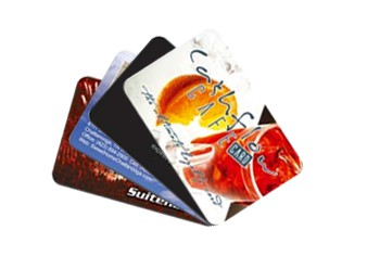 Credit card size cards